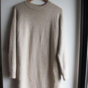 ASOS DESIGN Fluffy Yarn Sweater Dress